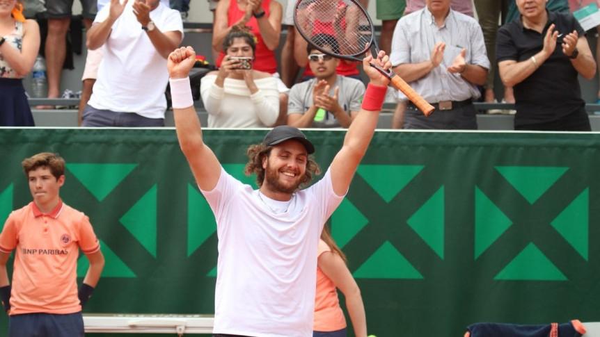 Resultado de imagen para Roland Garros: Trungelliti y Schwartzman, a segunda ronda