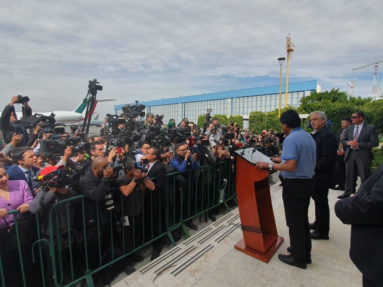 México le concedió asilo político a Evo Morales