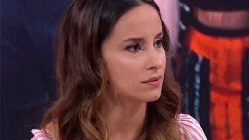 Lourdes Sánchez se cayó en ensayo para el Bailando
