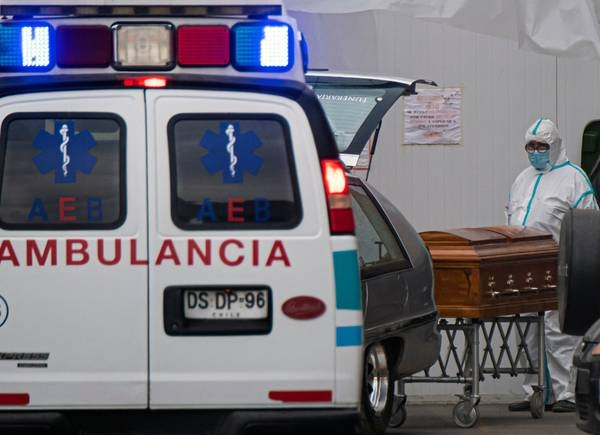 De pronto, Chile se encontró con 9 mil muertes