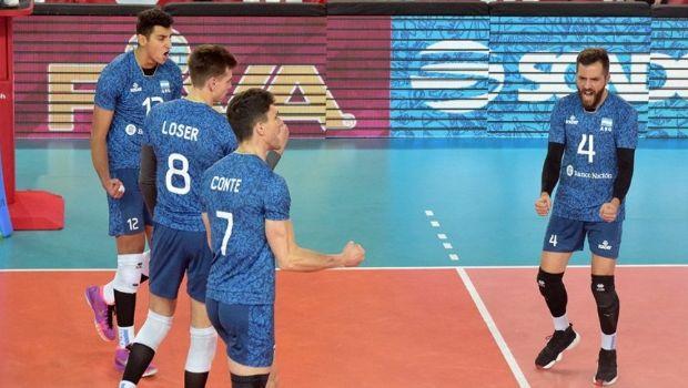 Con Loser, Argentina derrotó a Estados Unidos