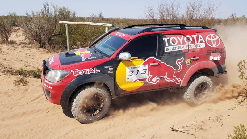 La segunda del Rally Cross Country es en Rivadavia