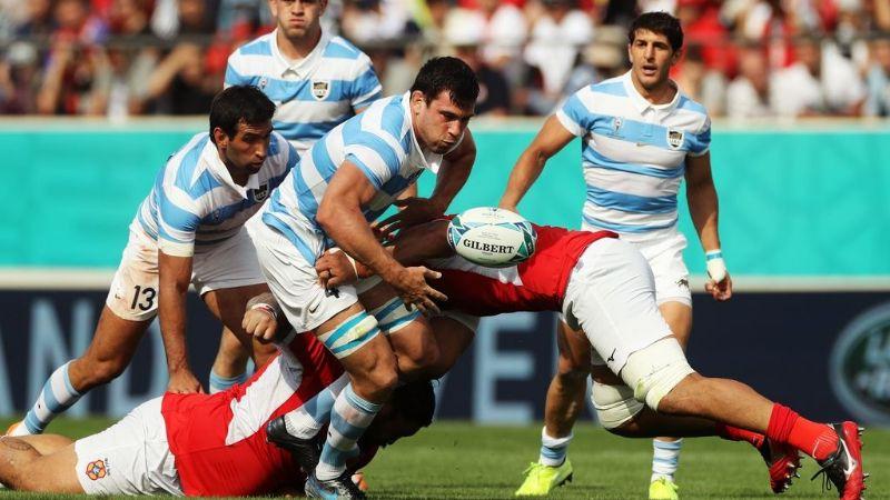 Los Pumas le ganaron a Tonga con punto bonus
