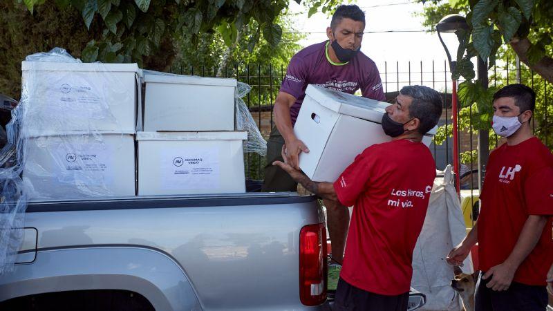 Donan alimentos e insumos sanitarios para lasherinos