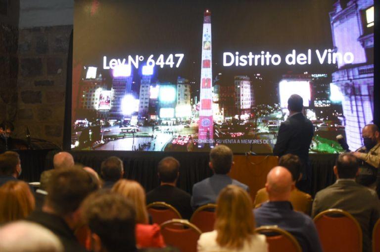 Distrito del Vino presentación en Mendoza